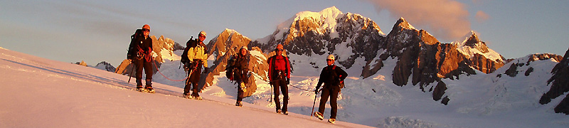 mountaineering instruction course