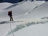 Glacier travel in New Zealand