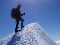 guided ascent of Mt Aspiring
