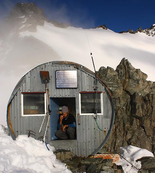Copeland Shelter in Mt Cook Nat. Park