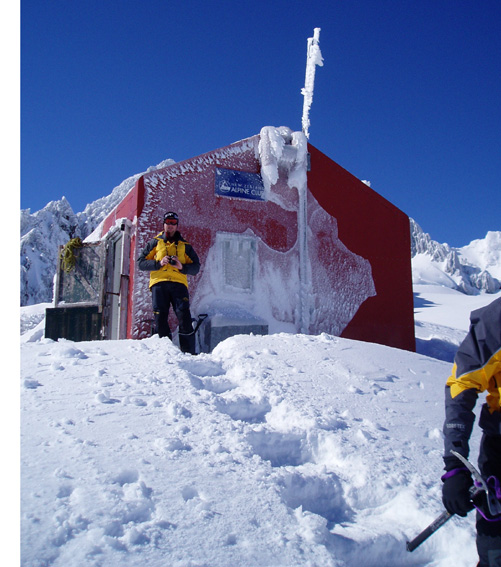 Ski touring accomodation in NZ