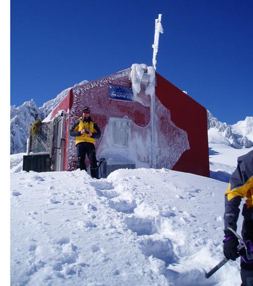 Ski touring accomodation in NZ
