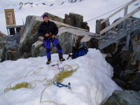 Ropework and knots, part of alpinism skills
