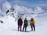 Alpine climbing instruction course in NZ