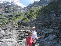 Mountain guide for trekking in Switzerland