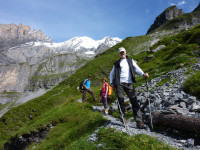 Swiss Alps guided alpinism