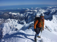 Mountain guiding in NZ