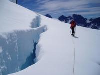 Mountain guiding in NZ