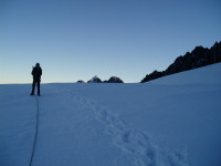 Guided mountaineering in NHZ