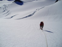 Mountaineering on the west coast