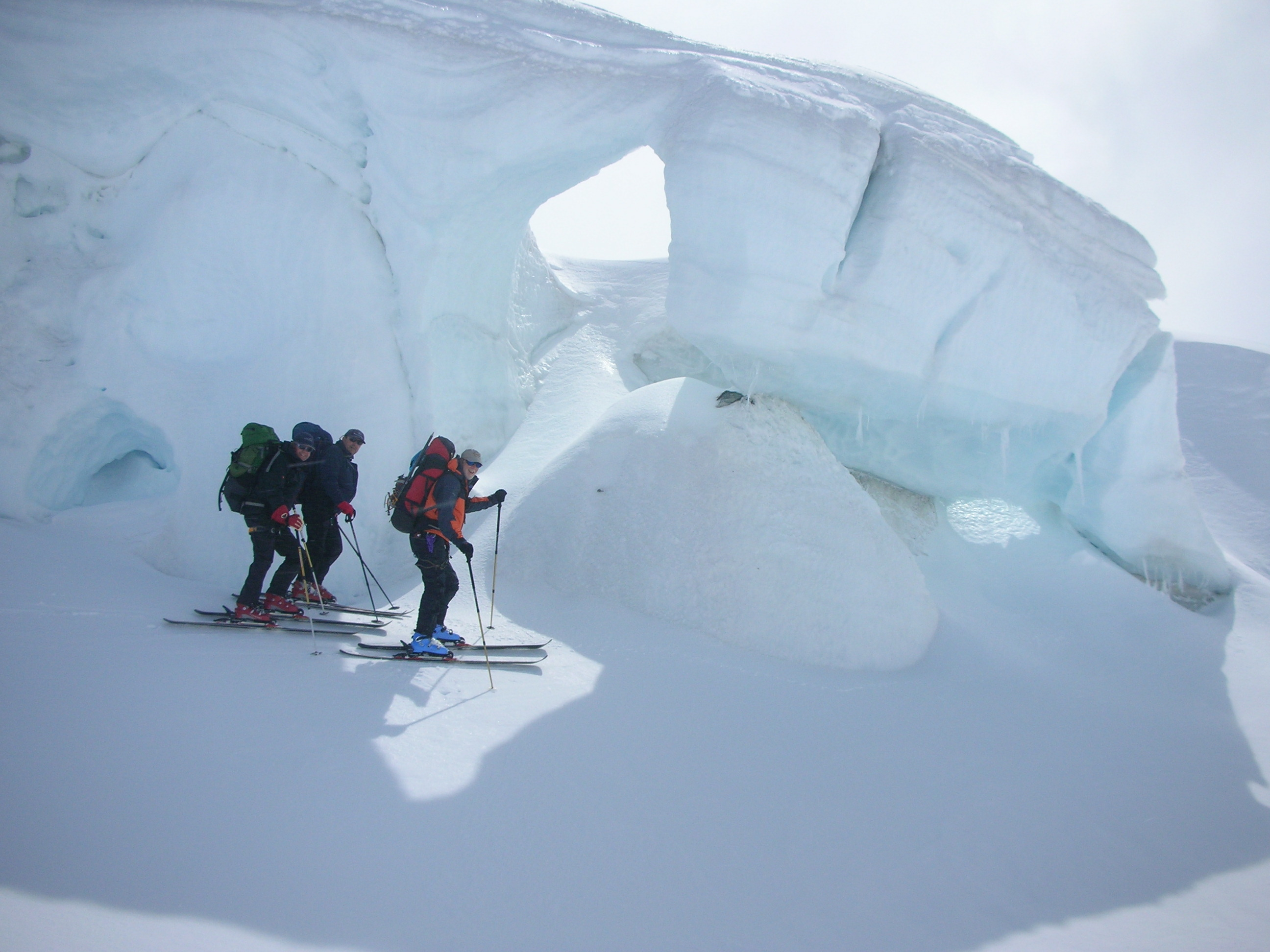 Southern Alps back country ski touring, NZ