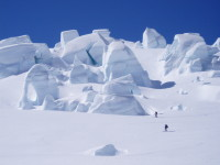 Guided ski touring in NZ