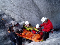 SAR training in iceland
