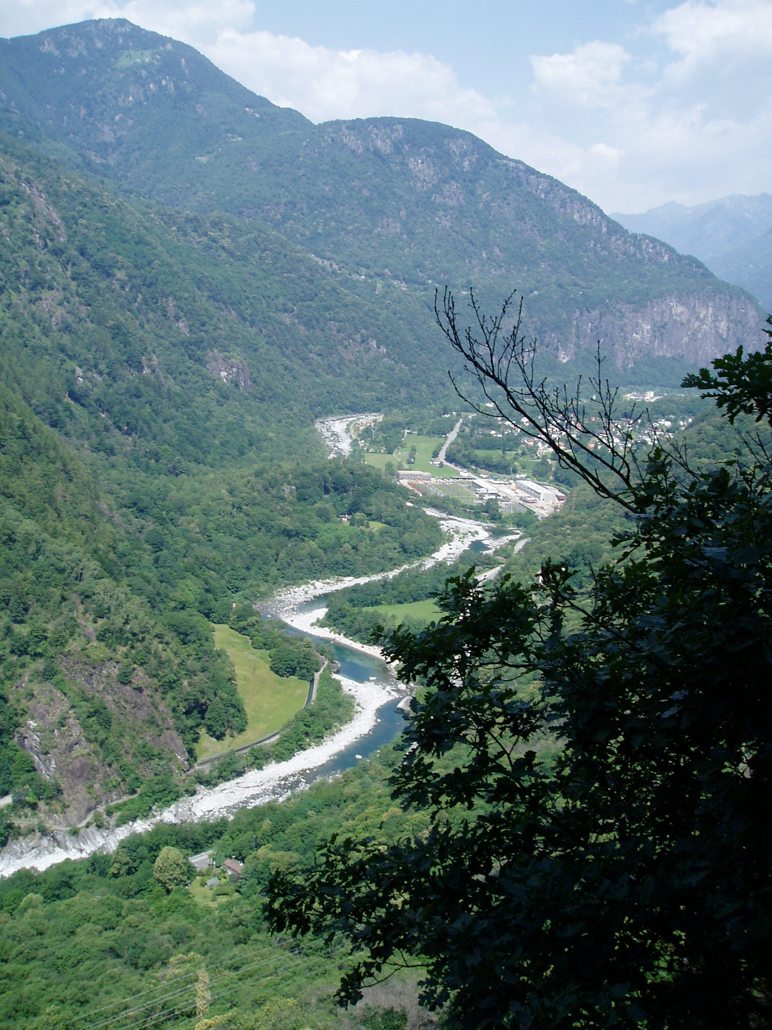 Maggia Valley Italian Switzerland